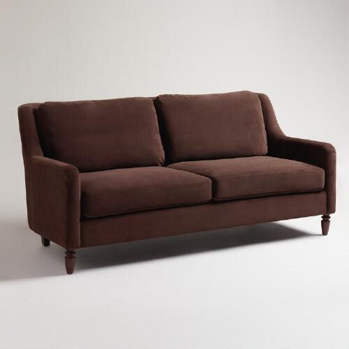Chocolate Lindley Sofa