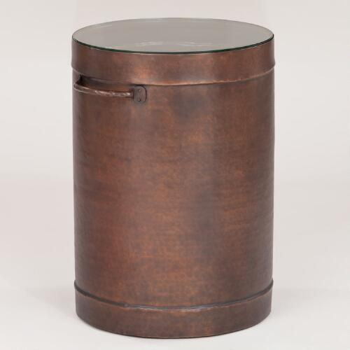 Oliver Drum Accent Table