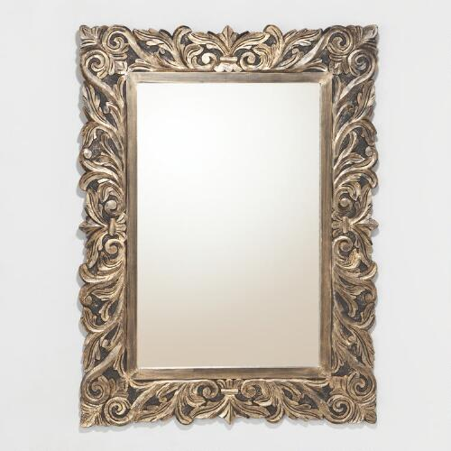 Brielle Carved Mirror