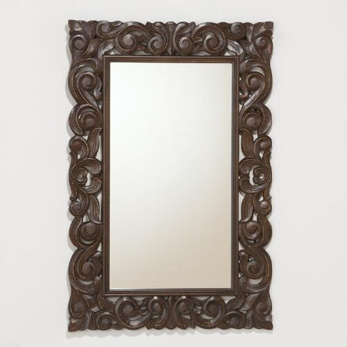 Tegan Carved Mirror