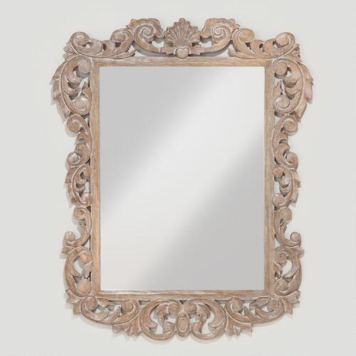 Isla Carved Mirror Collection