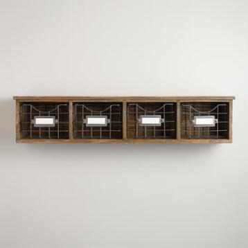 Owen Wood Wire Wall Unit