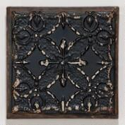 Black Venetian Tile Plaque