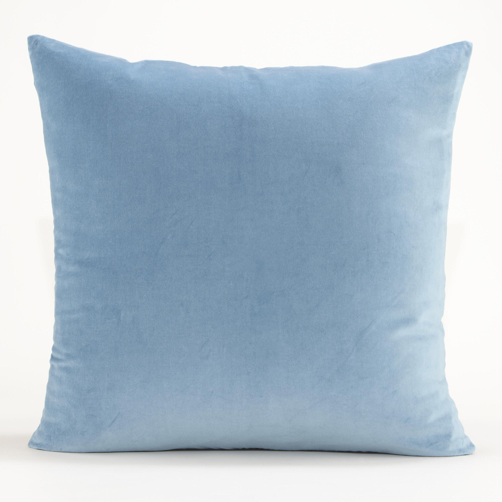 Blue Down Throw Pillows : Blue Throw Pillows For Couch