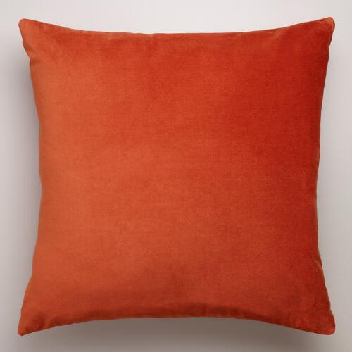 Gold Flame Velvet Throw Pillow Collection