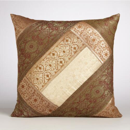 Patchwork Miramar Throw Pillow