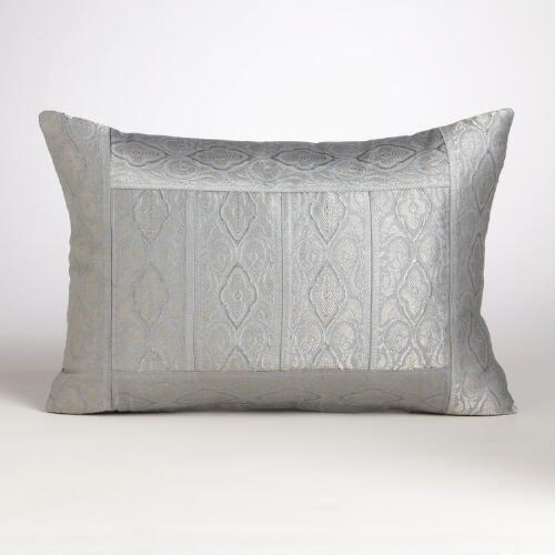 Jade Blue Miramar Lumbar Pillow
