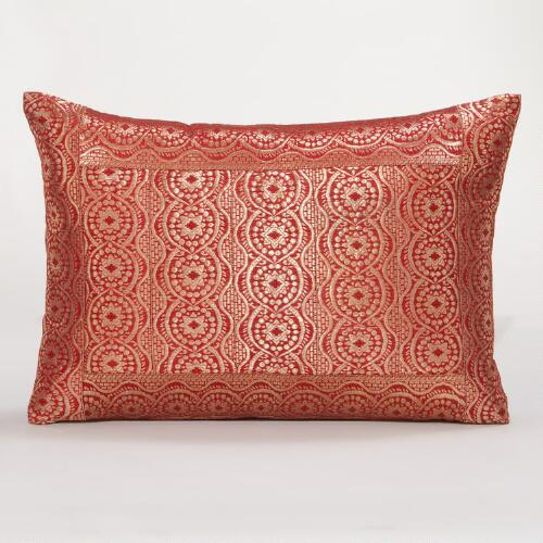 Warm Miramar Lumbar Pillow