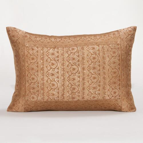 Copper Miramar Lumbar Pillow