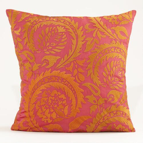Warm Sophia Throw Pillow