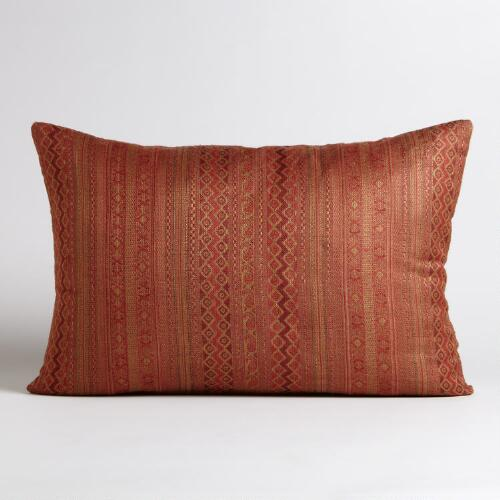 Warm Jacquard Lumbar Pillow