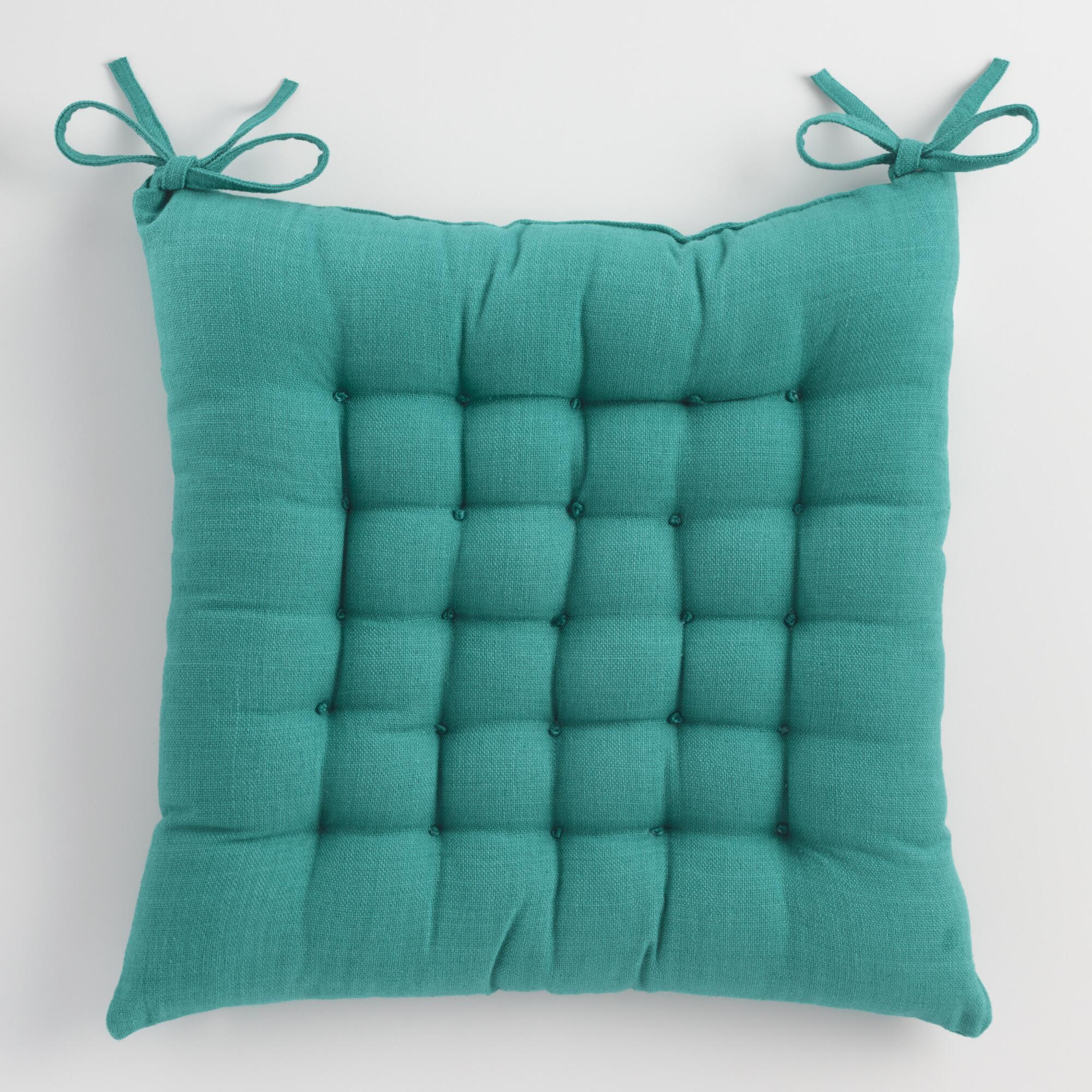 Blue dasutti chair cushion world market for Chair pillow