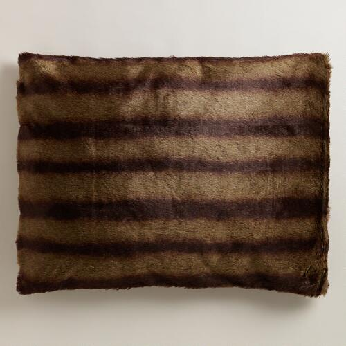 Mink Faux Fur Pet Bed