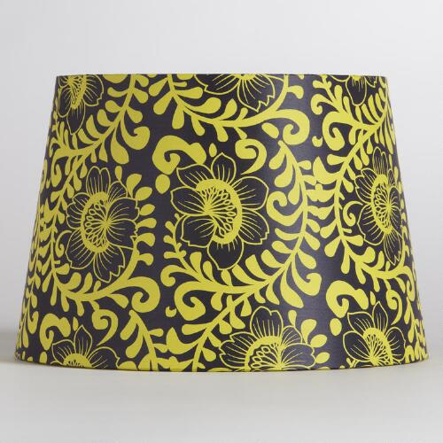 Purple and Gold Venetian Accent Lamp Shade