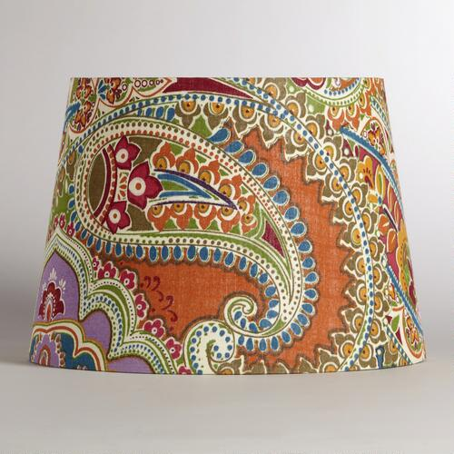 Venetian Paisley Table Lamp Shade