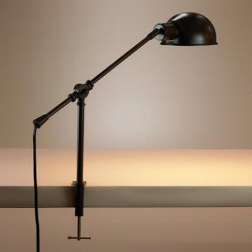 Metal Clamp Task Lamp