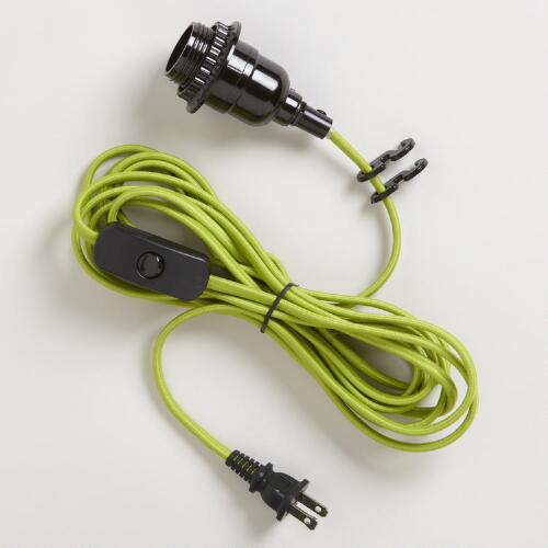 Green Electrical Cord Swag Kit