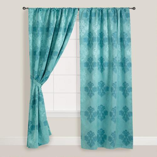 Porcelain Kensington Curtain