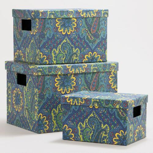 Green Paisley Rialto Box Collection