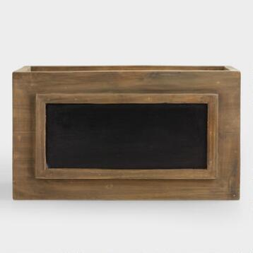 Owen Box With Chalkboard