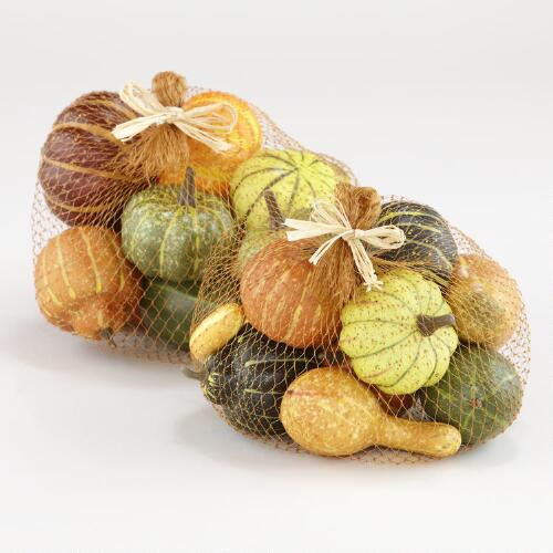 Mixed Gourds, Set of 2