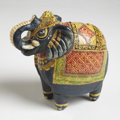 Terracotta Elephant-Bank