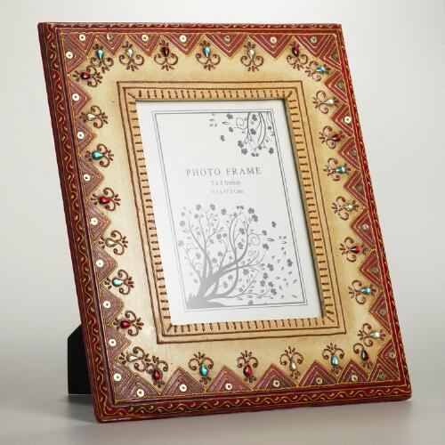 Small Painted Wooden Frame