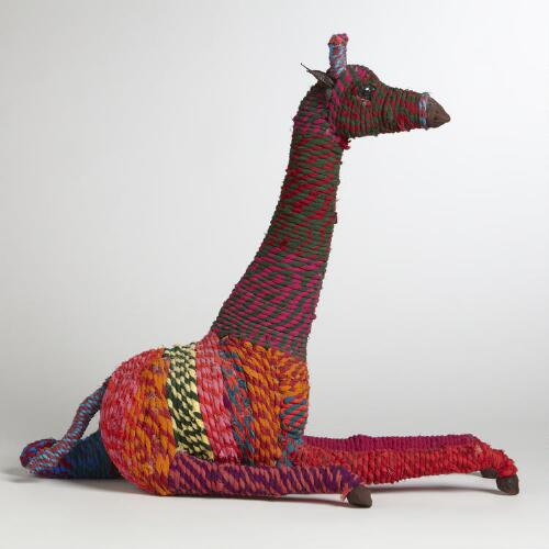 Sitting Chindi Giraffe