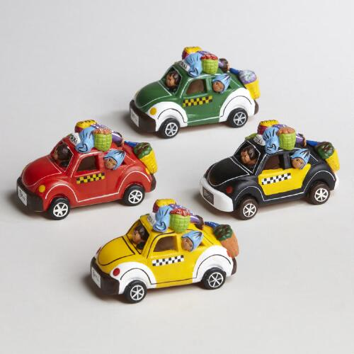 Assorted Peruvian Taxis, Set of 4
