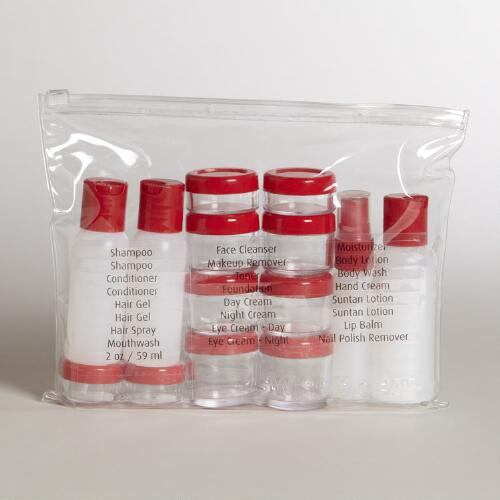 Swiss Gear Carry-On Toiletry Bottle Kit