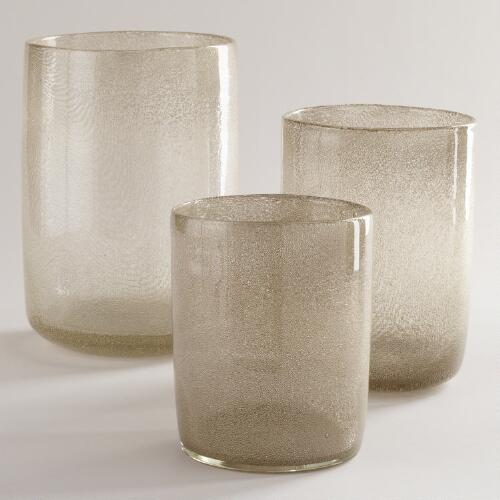 Metallic Bubble Candleholder Collection