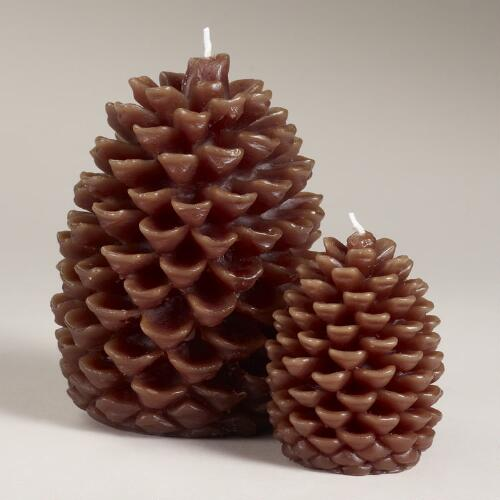 Pinecone Candle Collection