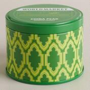 China Pear Travel Candle Tin