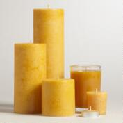 Turkish Peach Mottled Candles
