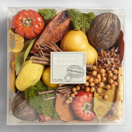 Mexican Pumpkin Box Potpourri