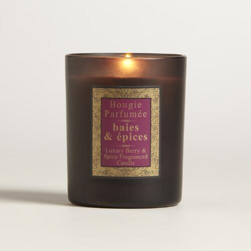 Spiced Berry French Candle