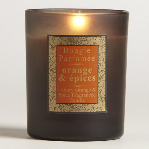 Spiced Orange French Candle