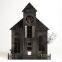 Metal Haunted House Candleholder | World Market from worldmarket.com