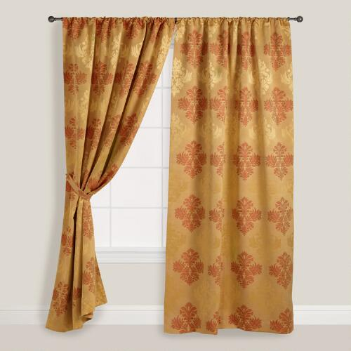 Gold Kensington Curtain