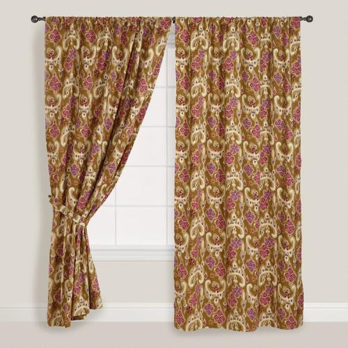 Heirloom Floral Curtain