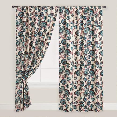 Laurel Floral Curtain