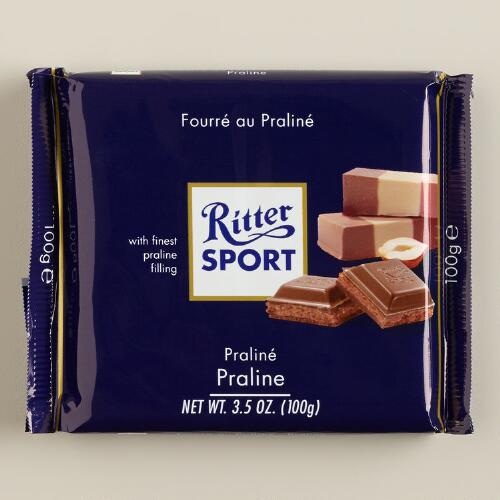 Ritter Sport Milk Chocolate with Praline