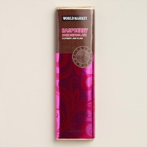 World Market® Raspberry Dark Chocolate Bar, Set of 2