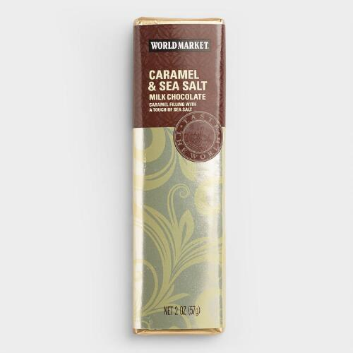 World Market® Caramel & Sea Salt Milk Chocolate Set of 2