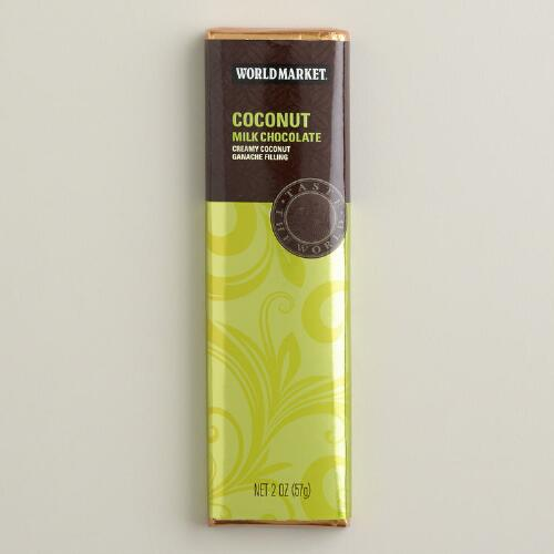 World Market® Coconut Milk Chocolate Bar, Set of 2