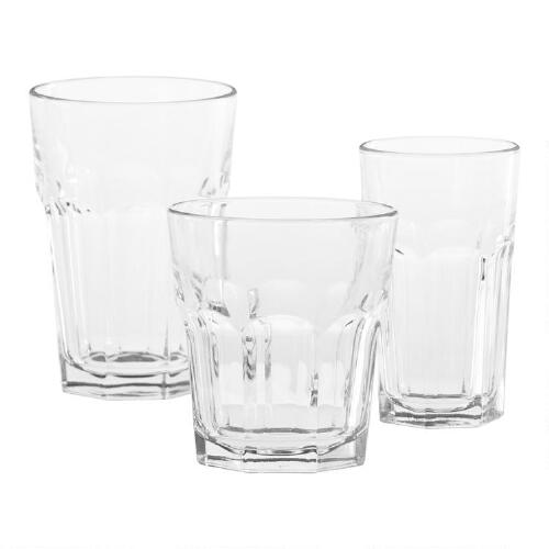 Gibraltar Glassware Collection