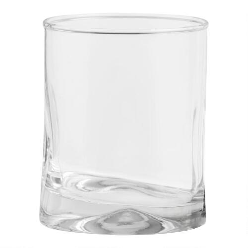 Impressions Double Old-Fashioned Glasses, Set of 4