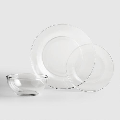 Glass Moderno Dinnerware