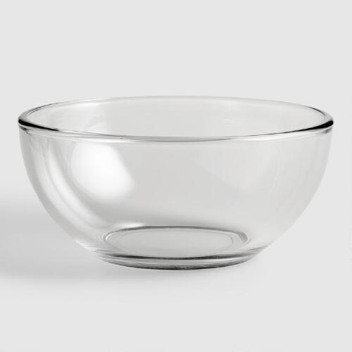 Clear Moderno Bowls, Set of 4