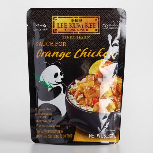 Lee Kum Kee Orange Chicken Sauce, Set of 6